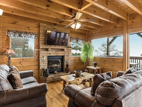 Starr Crest Resort Rentals, Cabin Rentals | Pigeon Forge ...