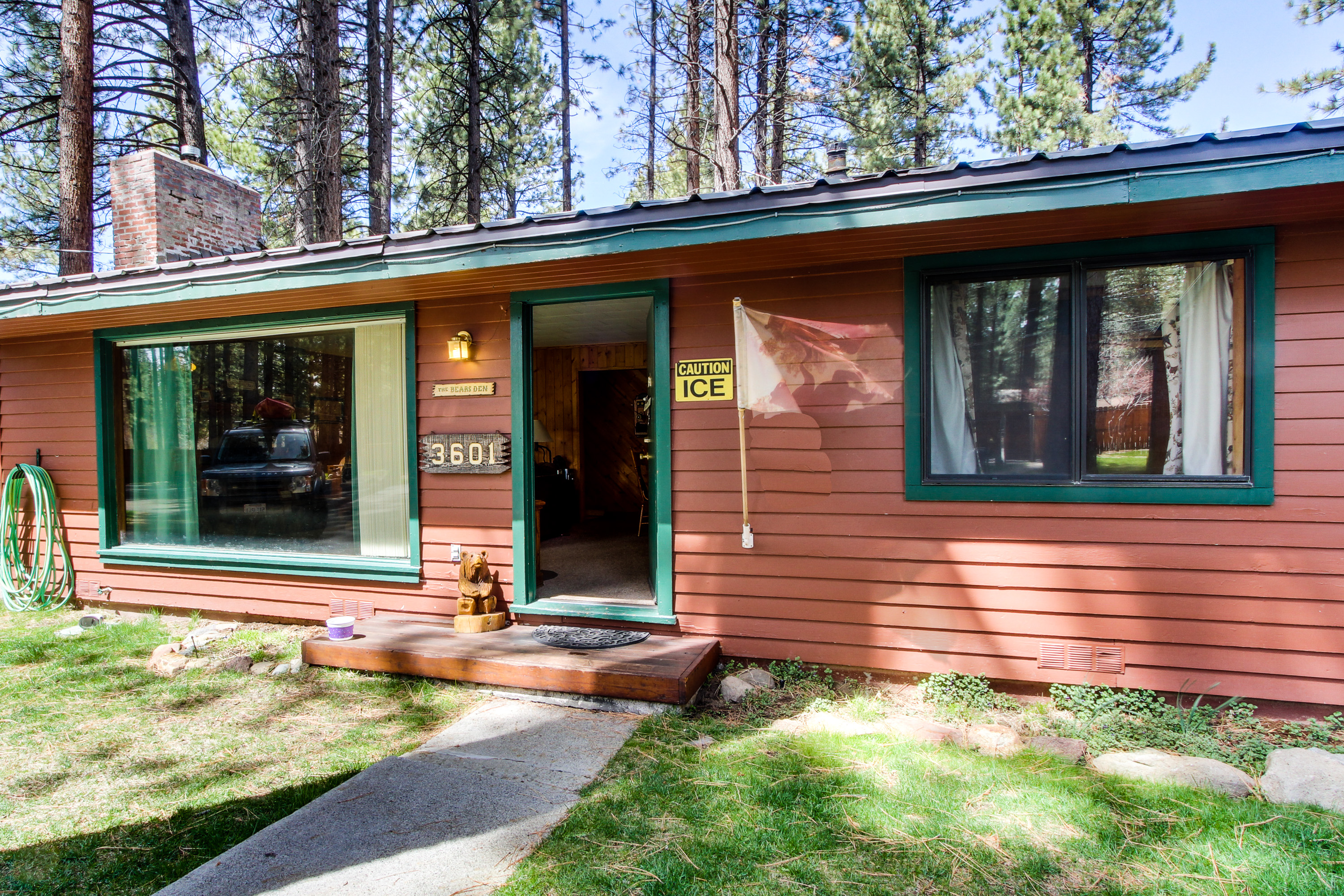 pin rentals luxury cabins upper famous tahoe cabin middle lake level to open