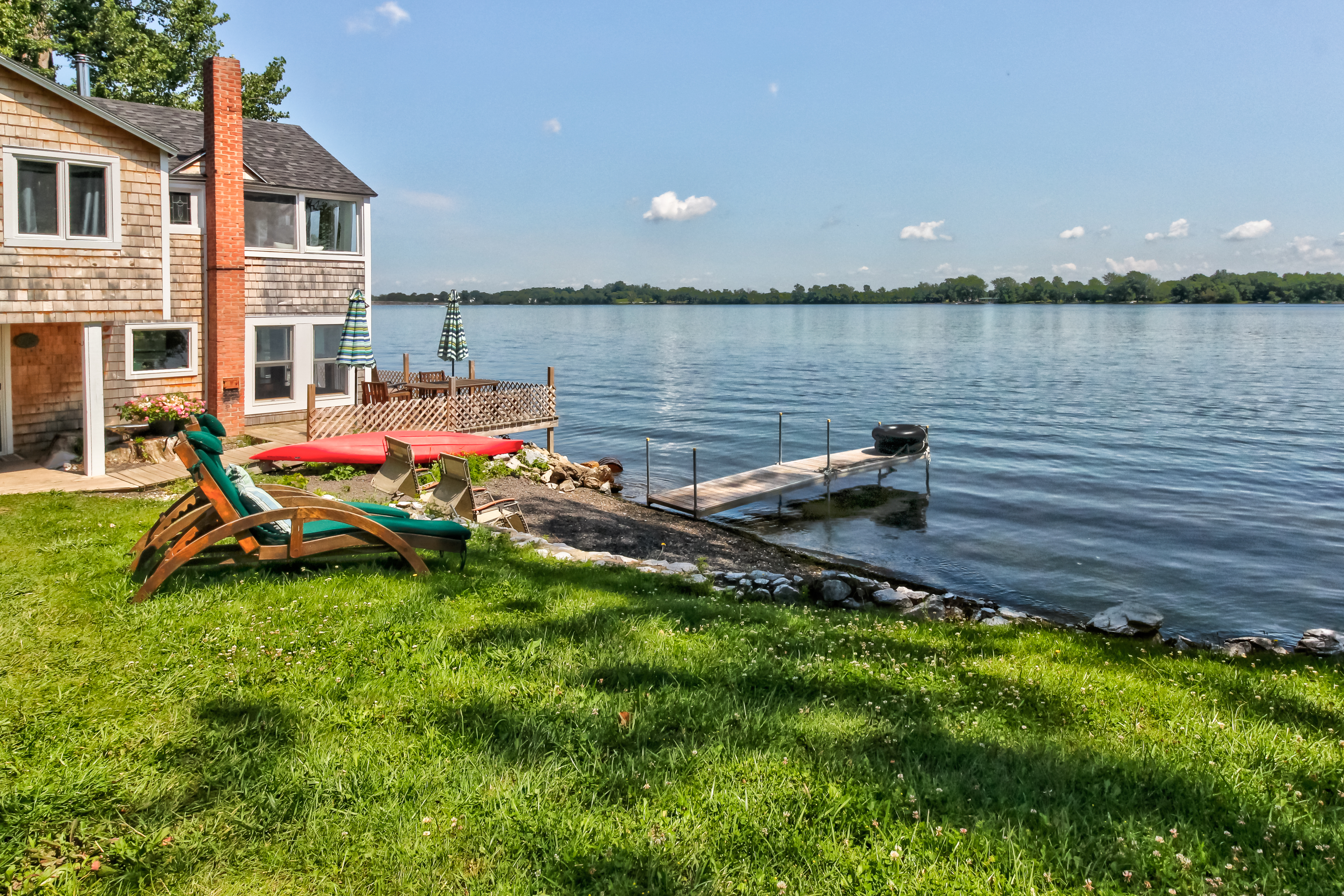 The Camp at Waters Edge | 3 BD Vacation Rental in Alburgh, VT | Vacasa