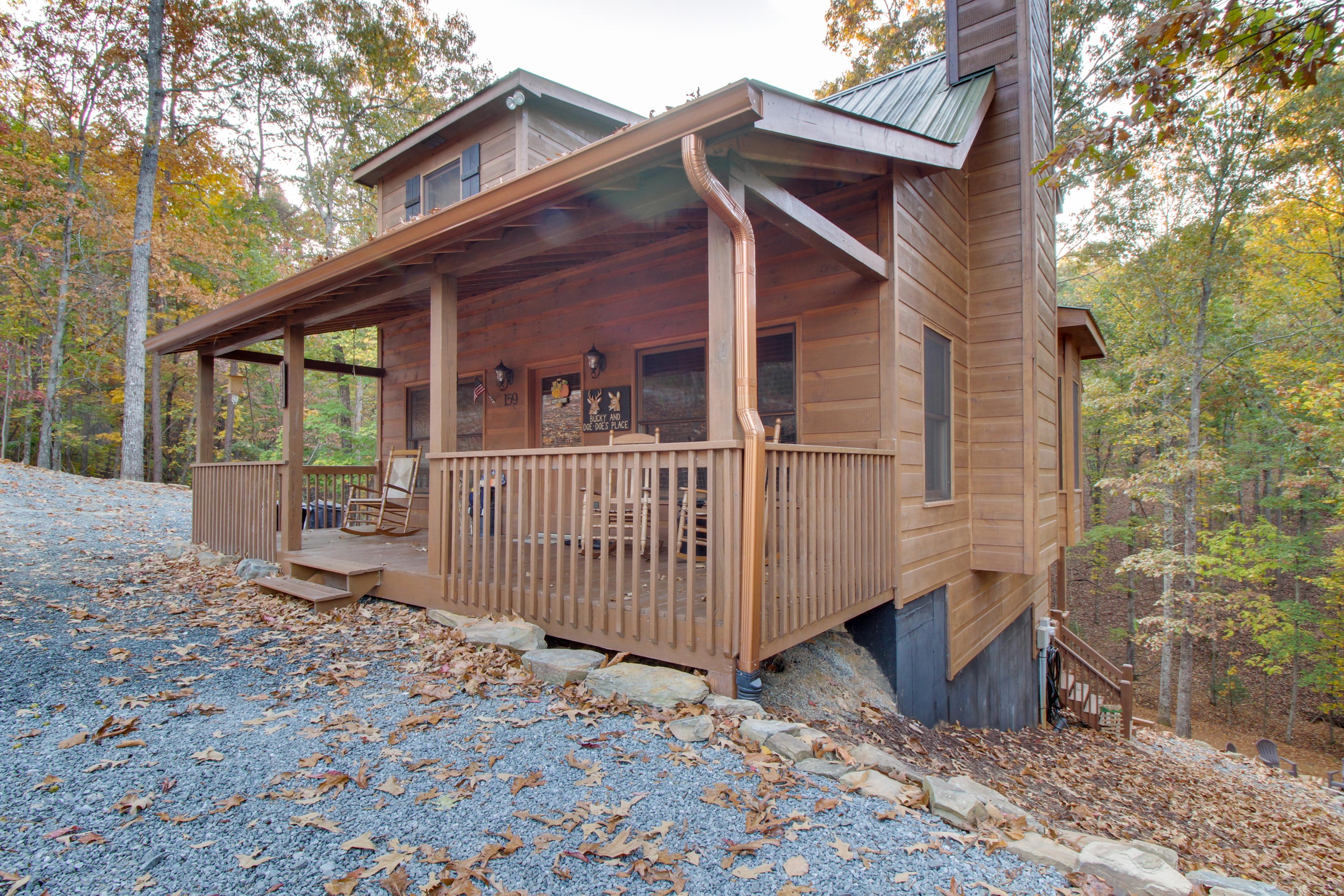 cherry log listings ga konkel nut michael cabins hickory ellijay trail in