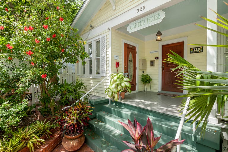 hibiscus room garden house bed breakfast - Garden House Key West
