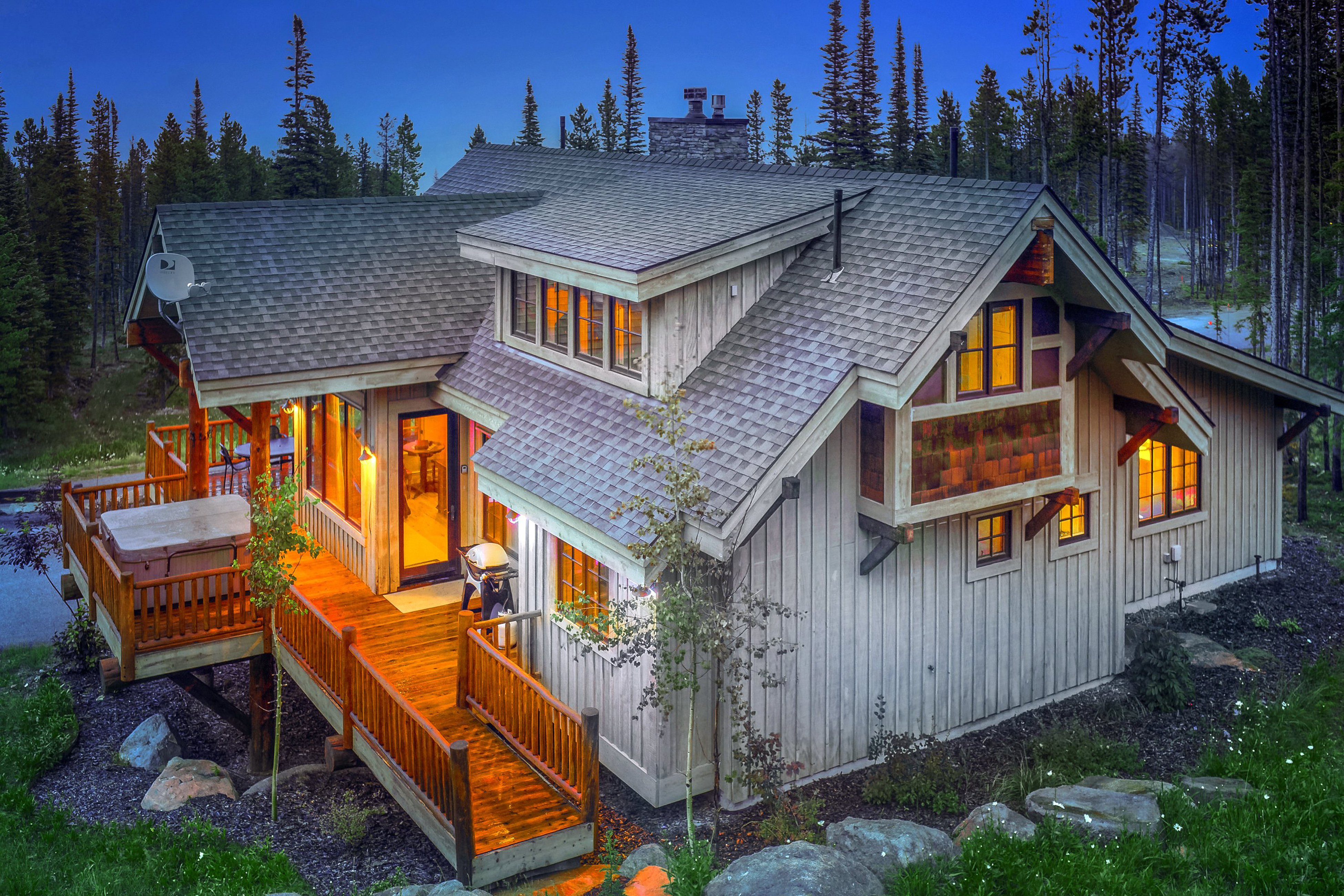 indian to cabin montana creek where rock stay vacation hanging cabins rentals