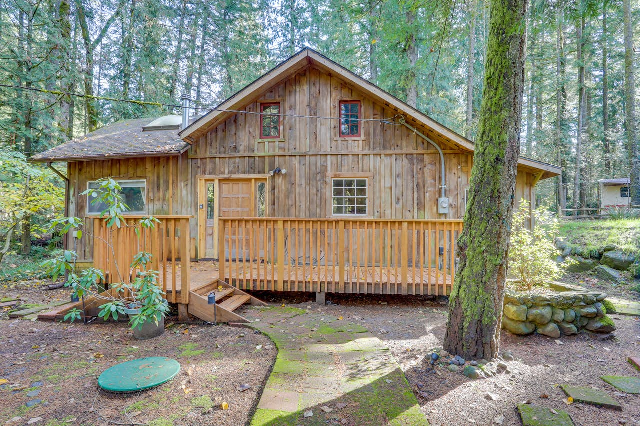 Mountain Air Sweet Retreat | 3 BD Vacation Rental in Brightwood, OR ...